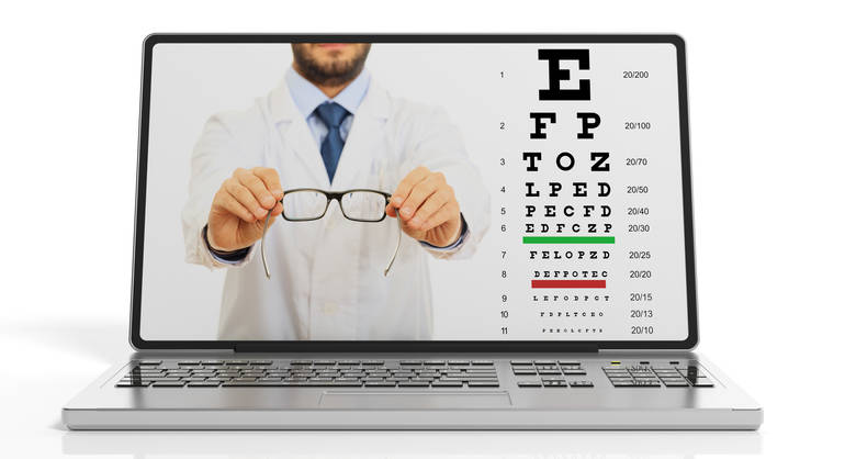 Online Eye Exams Cannot Replace Your Eye Doctor